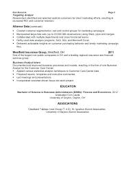 Data Analyst Resume Sample – Lifespanlearn.info
