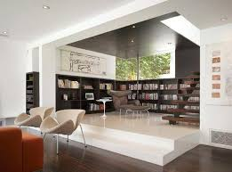contemporary library furniture. Modern Home Library Room Libraries Design Furniture Contemporary
