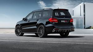 It comes in a Brabus 850 XL size: the Mercedes-AMG GLS 63 with 850 ...