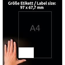 <b>этикетки avery</b> zweckform <b>универсальные</b>, 97 x 67,7 мм,i-j+l+k ...