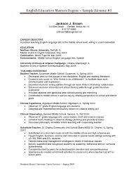 Amazing Master Resume Sample Objective For Psychology Graduate ...