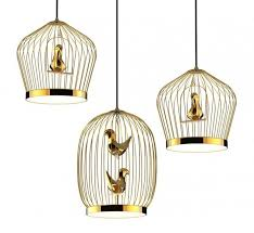 cage pendant lighting. Bird Cage-Inspired Lighting Cage Pendant A