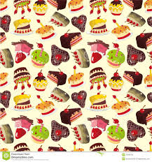 cake pattern wallpaper. Modren Pattern Download Seamless Cake Pattern Stock Vector Illustration Of Anniversary   20428791 In Cake Pattern Wallpaper E