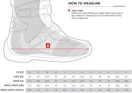 Alpinestar Tech 3 Size Chart Alpinestars Youth Tech 3s Kids Boots