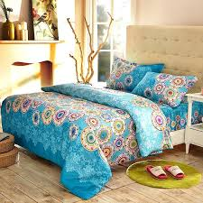 indian print bedding royal blue and colorful rainbow stripe print and pattern personalized full queen size indian print bedding
