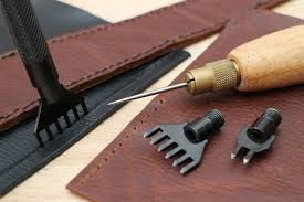 introduction creating sewing holes in leather