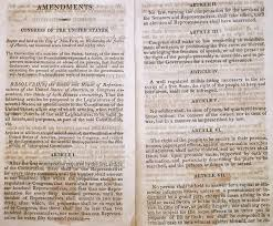article the first checks and balances 1790 printing of the 12 amendments proposed by a 12 of the first federal bicameral congress on 25 1789 the botched house article the first