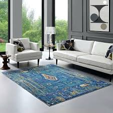 distressed southwestern area rug in multicolored lifestyle 4x6 rugs target
