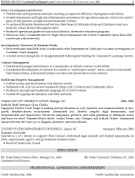 Sample Resume: Senior Attorney Resume Exles Title