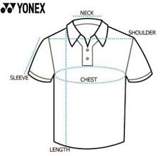 Yonex Size Chart Shirt Yonex 20208 26t16 Sr Badminton Polo T Shirt Raseberry