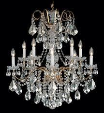 schonbek 3657 48s new orleans 28 inch antique silver clear swarovski elements undefined