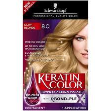 Schwarzkopf Keratin Color Anti Age Hair Color Cream 8 0