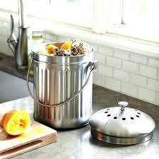 counter compost container walnut compost bin under counter compost container countertop compost bins counter compost container kitchen craft sleeved