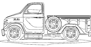 28 collection of pickup truck coloring pages high quality free