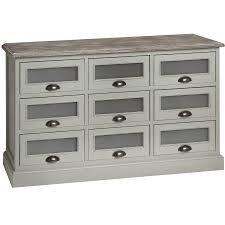 Lyon Bedroom Furniture Lyon Shabby Chic Large Grey Chest Of Drawers Bedroom Furniture