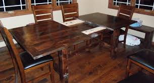 osborne table slides used to extend knotty alder table