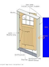 ever jamb exterior door frame replace