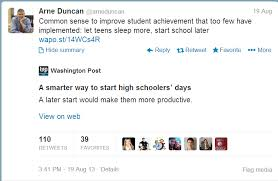 notable quotes the impact of school start times on adolescent   commenting