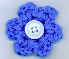 Easy Crochet Flower Patterns Free New Easy Crochet Flowers Free Patterns Crochet And Knit