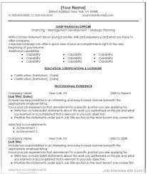 Cfo Resume Templates Best Of Free 24 Top Professional Resume Templates
