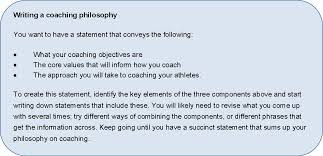 coaching philosophy coach growth philosophy 7