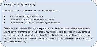 coaching philosophy coach growth philosophy 7