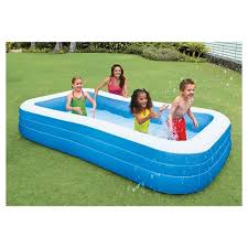 Intex 120 X 72 X 22 Swim Center Family Inflatable Pool Target