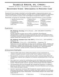 Med Surg Rn Resume Examples Rn Resume Samples Templates Stunning Sample Objectives For Case 40