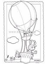 Luchtballon Kleurplaat