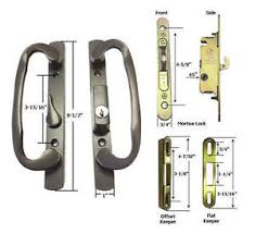 image is loading patio door handle kit mortise lock faceplate