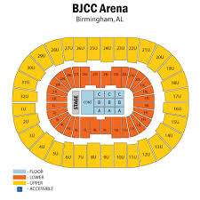 Bjcc Basketball Seating Chart Bjcc Arena Tickets Bjcc Arena Events Concerts In