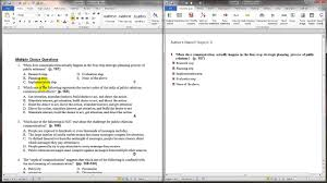 Multiple Choice Template Word Moodle In English Moodle Quiz Template Updated