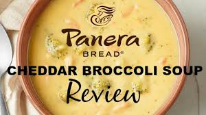 meal mondays panera bread broccoli cheddar soup review