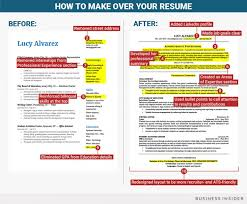 How To Format Your Resume When You're Not Entrylevel Anymore Best Business Insider Resume