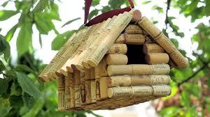 Diy Birdhouse Wine Cork Birdhouse Youtube