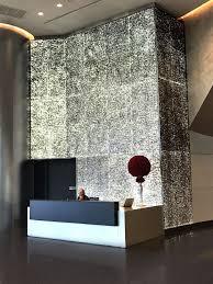 Eos Light Panel Systems Backlit Aluminum Panels At Reception Desk Using Eos Basic