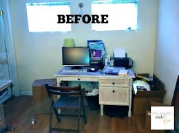 What is a small office Colour How To Arrange Office Furniture What Is Small Office Adorable Organized Home Office In Small Rental Home Organizing Tyberinainfo How To Arrange Office Furniture What Is Small Office Adorable