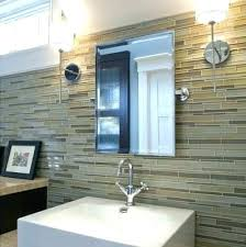 bathroom wall ideas instead of tiles glass tile half designs design ti geometric from painting mural