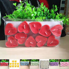 10 PCS Heart Shaped Floating Candles Romantic Wedding Cocktail Cocktail Party Decorations Ebay