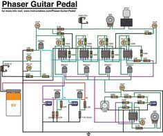 boss ds 1 pedal schematic pedal tech boss guitar phaser schematic png