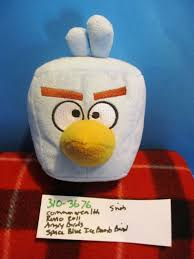 Commonwealth Rovio Angry Birds Space Blue Square Ice Bomb Bird 2011 Pl –  Hurricane Jack Surplus