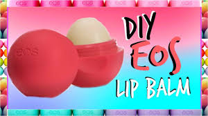 recycle or upcycle your old eos lip balm containerake your own eos lip balm hope you guys enjoy this tinted eos lip balm diy