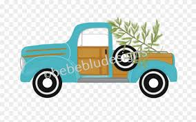 Woody Pickup W/ Tree - Truck Clipart (#1793672) - PinClipart