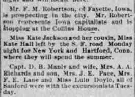 Lula Doyle, Ida Doyle Lane and Ella Speer Pace on excursion. -  Newspapers.com