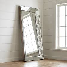 Image Wall Mirrors Crate And Barrel Dubois Floor Mirror Reviews Crate And Barrel