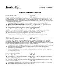 Sample Resume Warehouse Supervisor Job Objectives New Warehouse