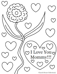 Small Picture Church House Collection Blog I Love You Mommy Coloring Page For