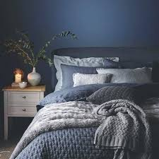 Blue And Grey Bedroom Best Blue Grey Wall Bedroom Ideas