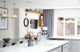 monochromatic look in the kitchen wiht a quartz countertop