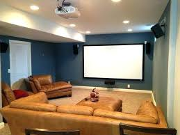 space home. Small Home Theater Ideas Basement Design On Stylish Space